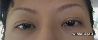 Before Eyebrow Embroidery