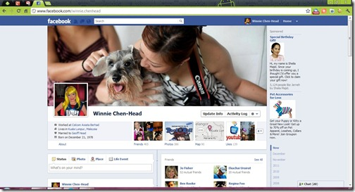 Personal FB Timeline