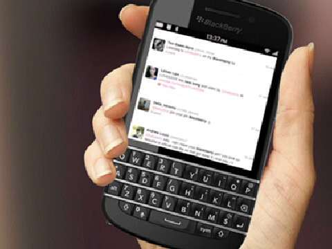 Blackberry X10 (all hardware QWERTY keyboards that you're used to)