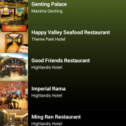 RWG App - Food & Beverage / Dining