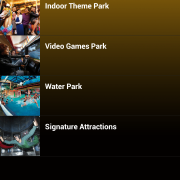 RWG App - Theme Park - by type