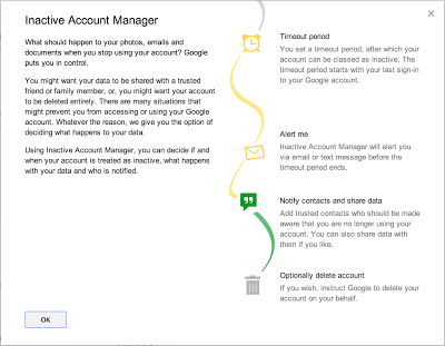 Google's Inactive Account Manager