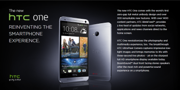 HTC One (pg1) - Reinventing the Smartphone Experience