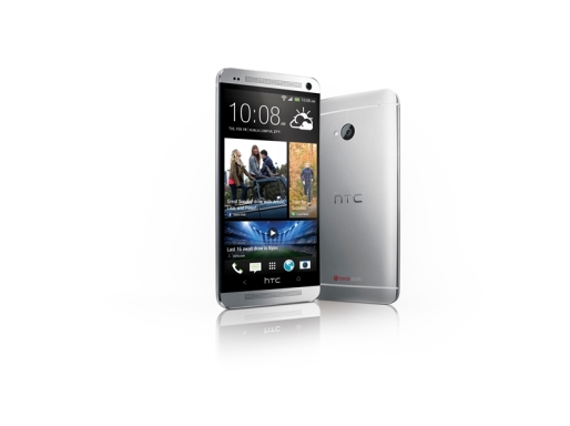 HTC One - Front and Back