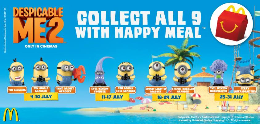 Minion Madness In Malaysia And The Good Deeds Of The Happiest Meal Winniekepala Com