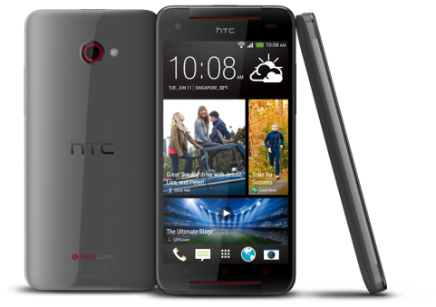 HTC Butterfly S - Metallic Grey