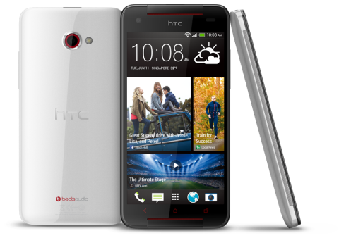 HTC Butterfly S - Glamour White