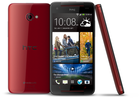 HTC Butterfly S - Fervour Red