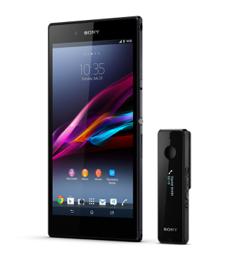 Sony Xperia Z Ultra with Smart Bluetooth Handset