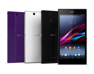Sony Xperia Z Ultra - Purple, White, Black