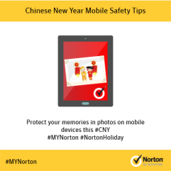 Protect your pictures and videos on your mobile this CNY
